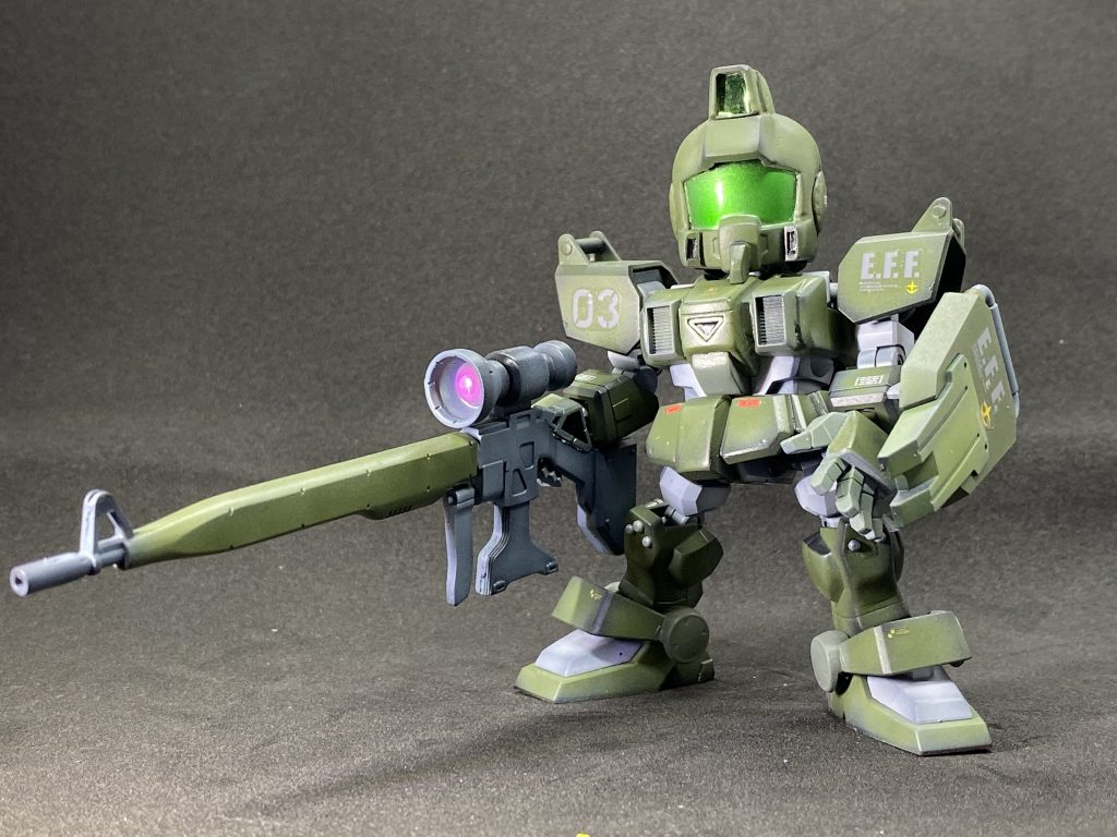 SD 陸戦型ジム アピールショット1