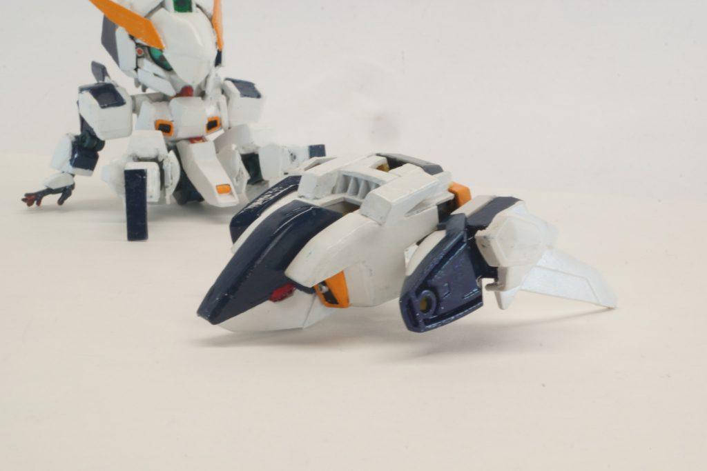 RX-124 ガンダムTR-Xリライト[ウーンドウォート] 制作工程1