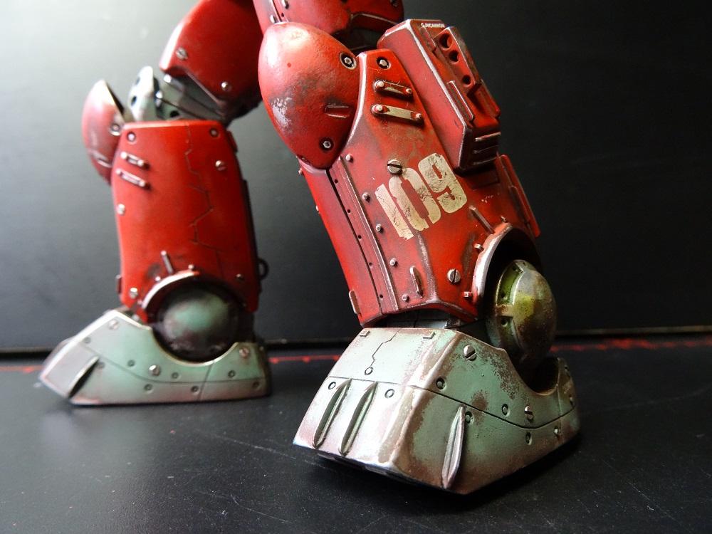 ガンキャノン 鉄感仕様 制作工程1