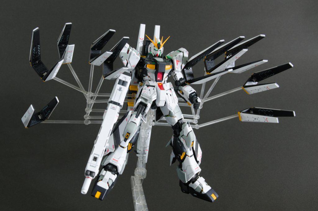 MG νガンダム HWS+DFF アピールショット3