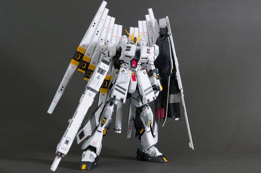 MG νガンダム HWS+DFF アピールショット6