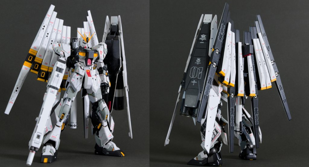 MG νガンダム HWS+DFF アピールショット1