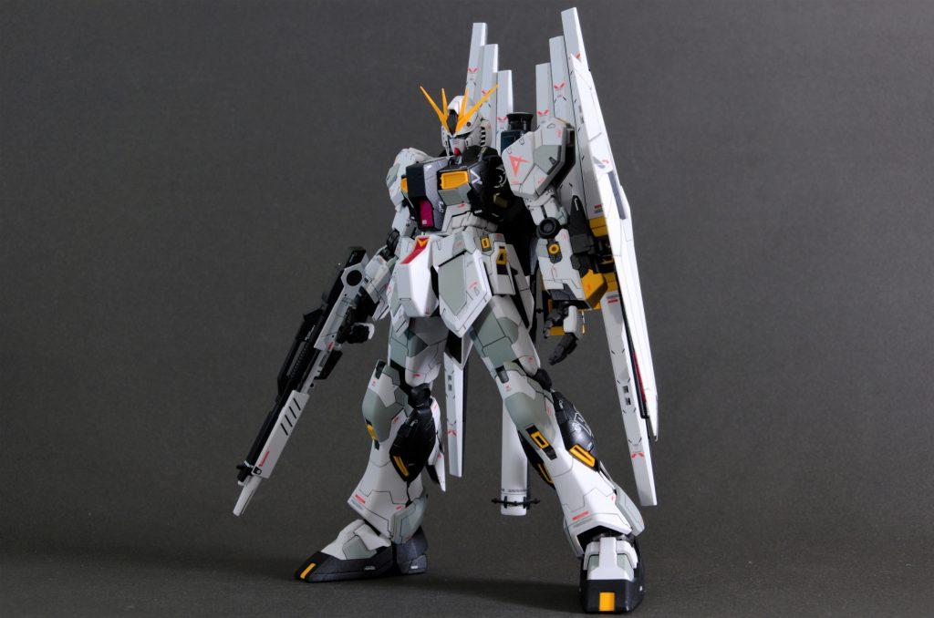MG νガンダム HWS+DFF アピールショット5