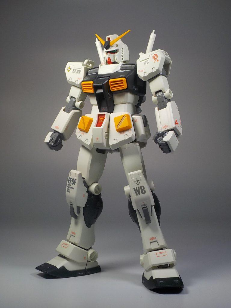 MG ver.Ka RX78-2 νガンダムカラーにしてみました