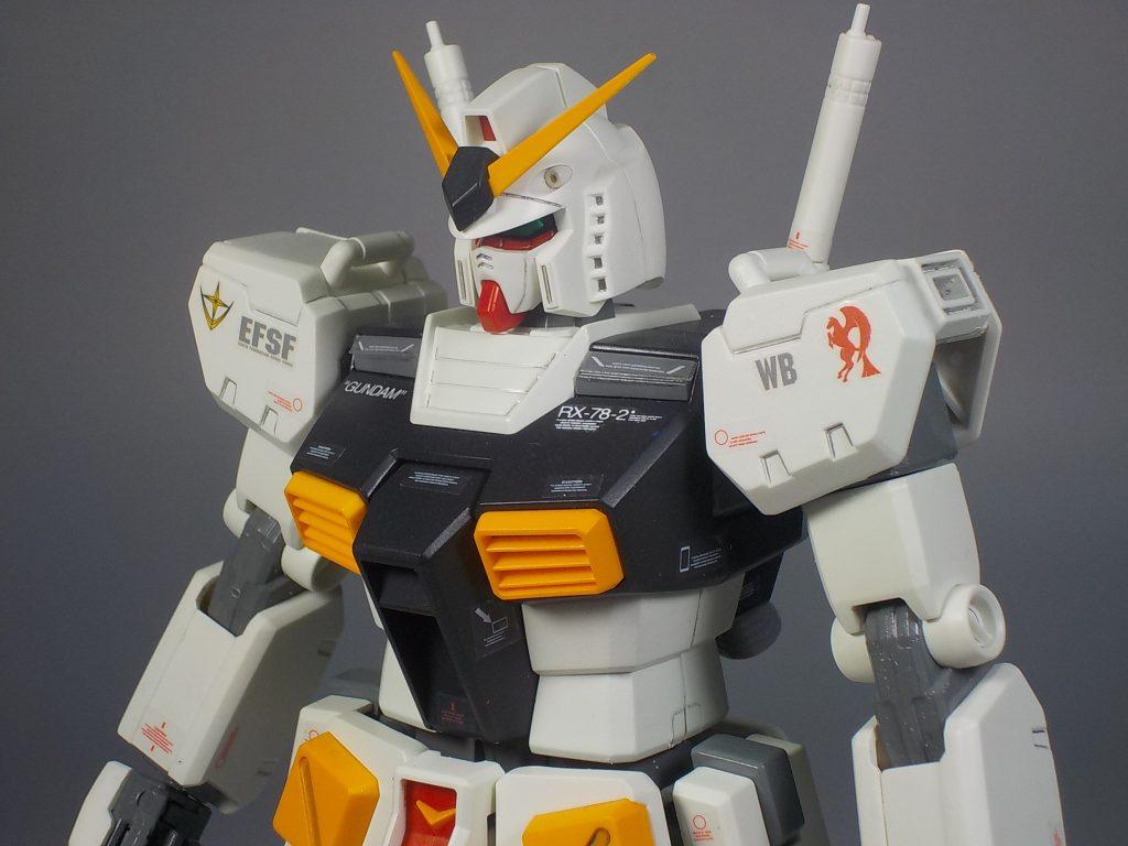 MG ver.Ka RX78-2 νガンダムカラーにしてみました アピールショット1