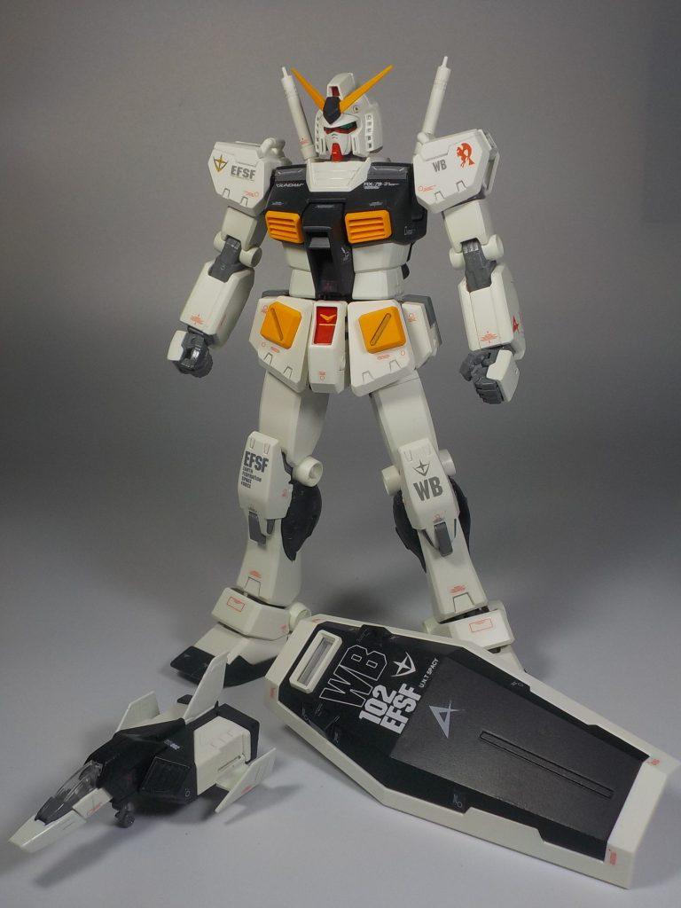 MG ver.Ka RX78-2 νガンダムカラーにしてみました アピールショット3