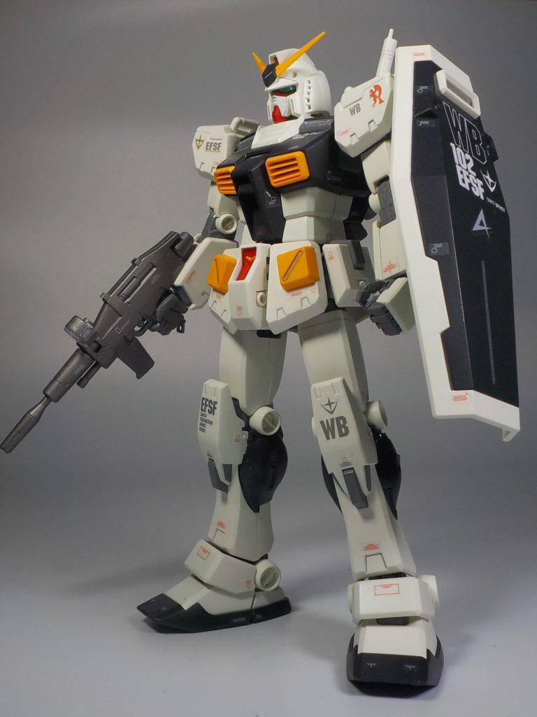 MG ver.Ka RX78-2 νガンダムカラーにしてみました アピールショット2