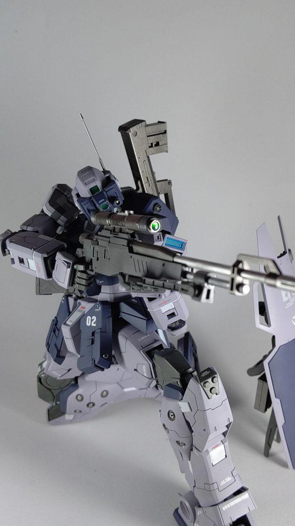 MGジム・スナイパーⅡ  ジムガイスト アピールショット1
