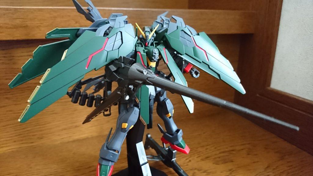 クロスボーンガンダムフルクロス(日本軍仕様) アピールショット2