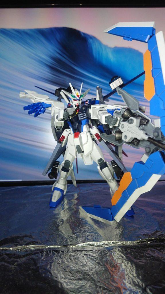 Comet  γῆ  Freedom Gundam アピールショット2