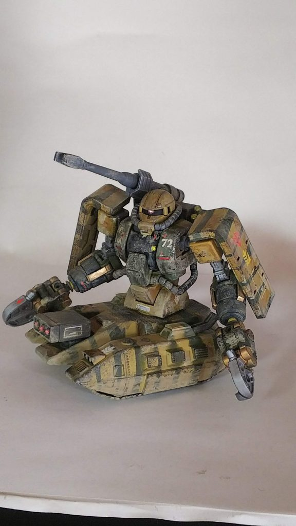1/144 HG 旧キット ザクタンク改