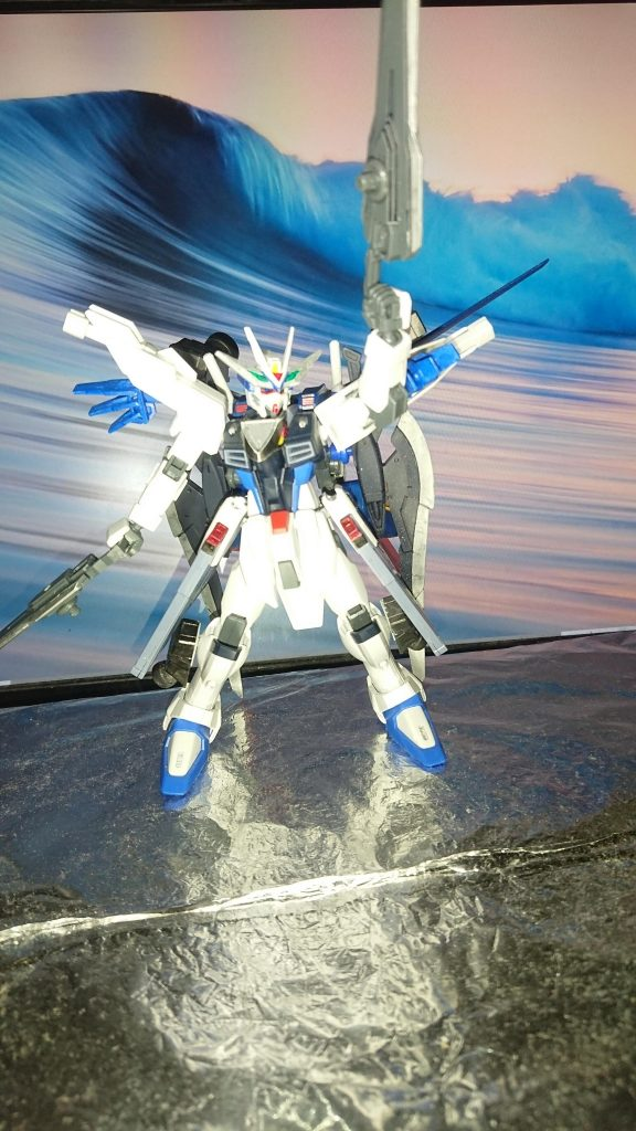 Comet  γῆ  Freedom Gundam アピールショット3