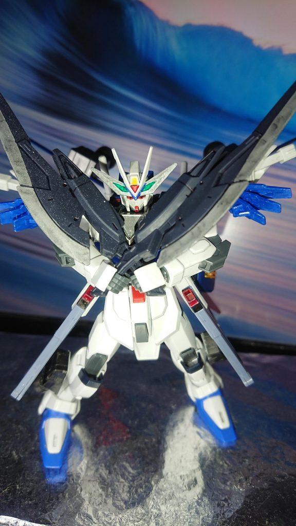 Comet  γῆ  Freedom Gundam アピールショット4