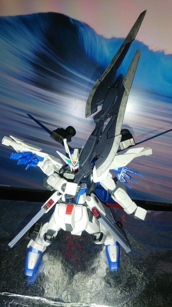 Comet  γῆ  Freedom Gundam 制作工程1