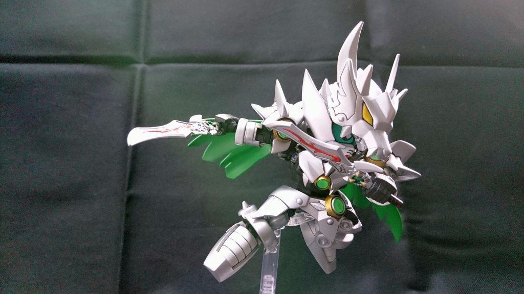 白銀の騎士 アピールショット2