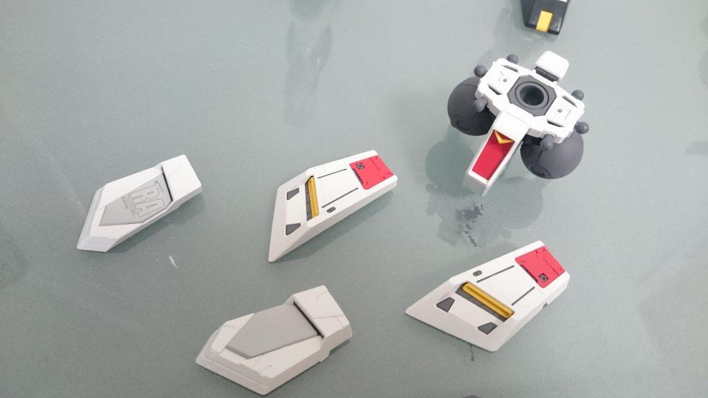 RX-93 νガンダム 制作工程2