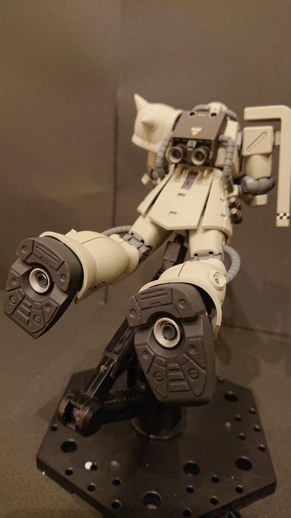 ザクⅡF2オリジナルカラー アピールショット4