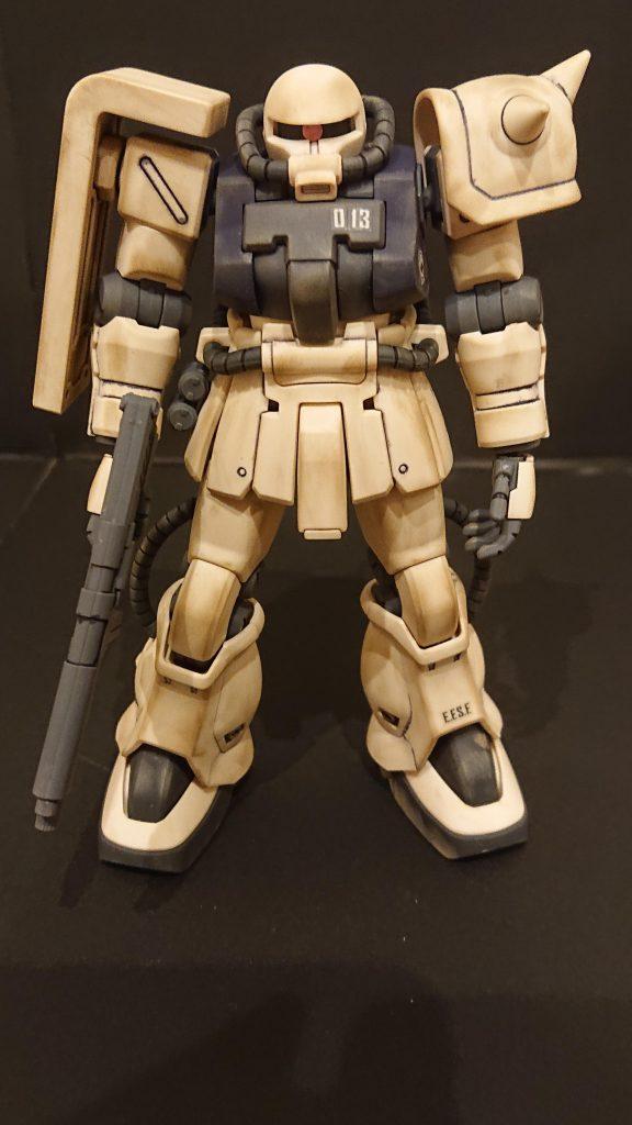 ザクⅡF2連邦仕様 アピールショット1