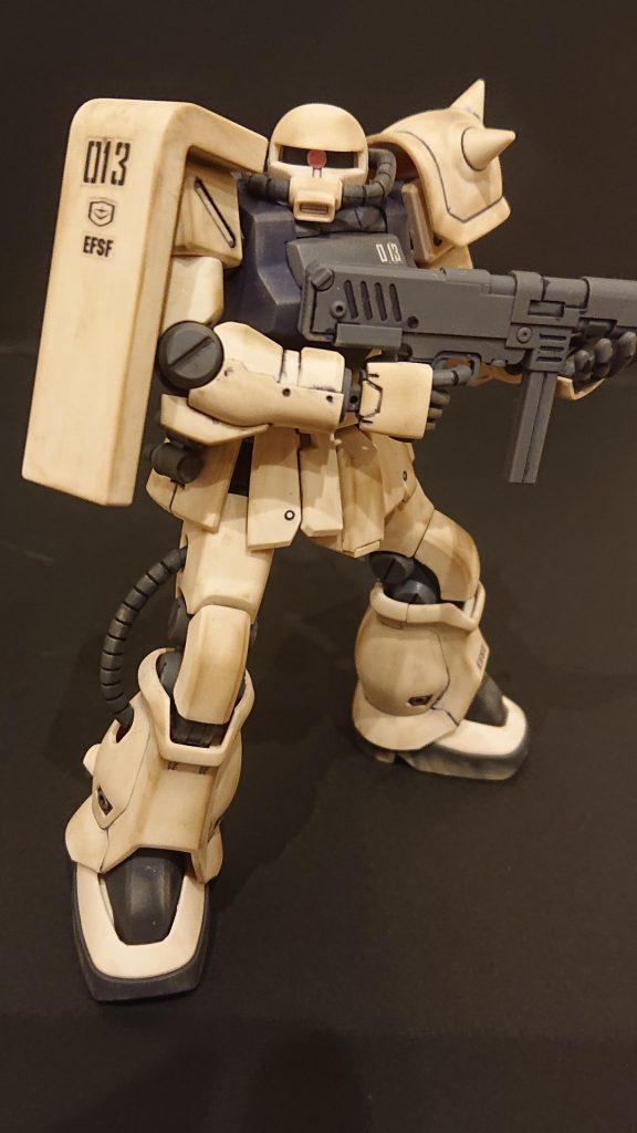 ザクⅡF2連邦仕様 アピールショット3