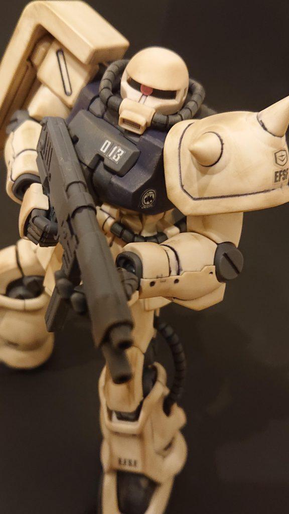 ザクⅡF2連邦仕様 アピールショット4