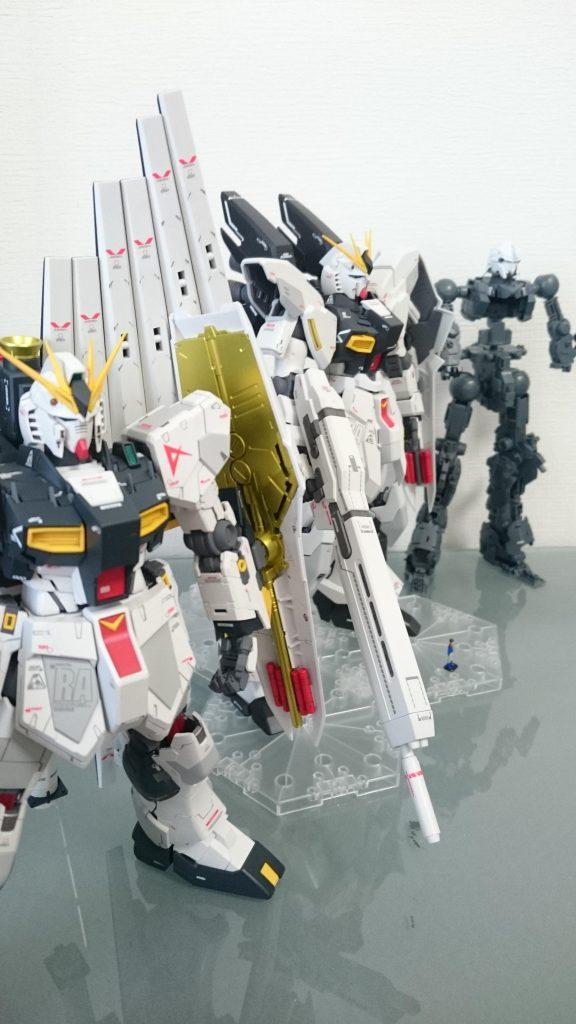 RX-93 νガンダム 制作工程3