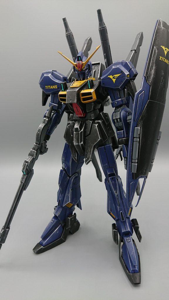 ガンダムMARKⅢ ティターンズVer アピールショット1