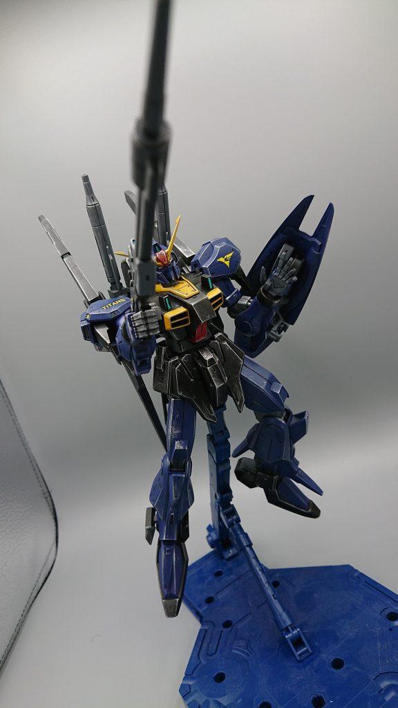ガンダムMARKⅢ ティターンズVer アピールショット3