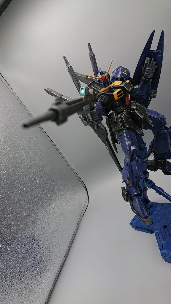 ガンダムMARKⅢ ティターンズVer アピールショット2