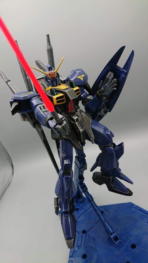 ガンダムMARKⅢ ティターンズVer アピールショット4