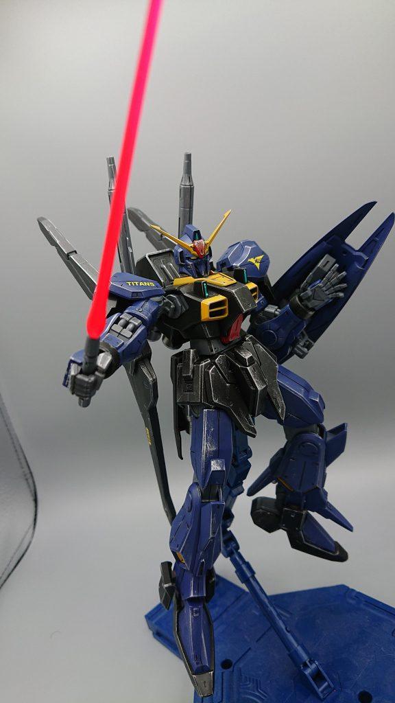 ガンダムMARKⅢ ティターンズVer アピールショット5