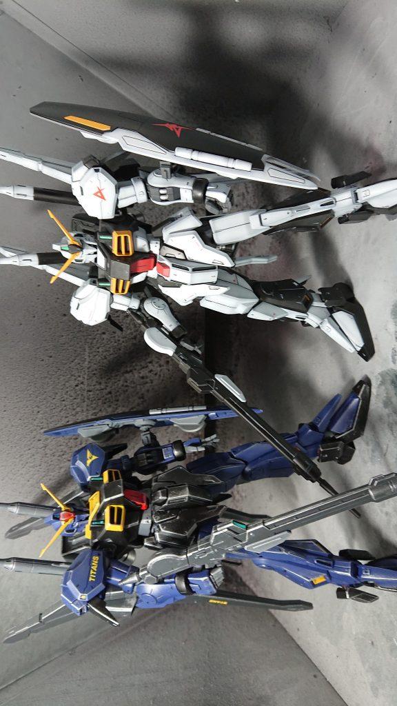 ガンダムMARKⅢ ティターンズVer アピールショット7
