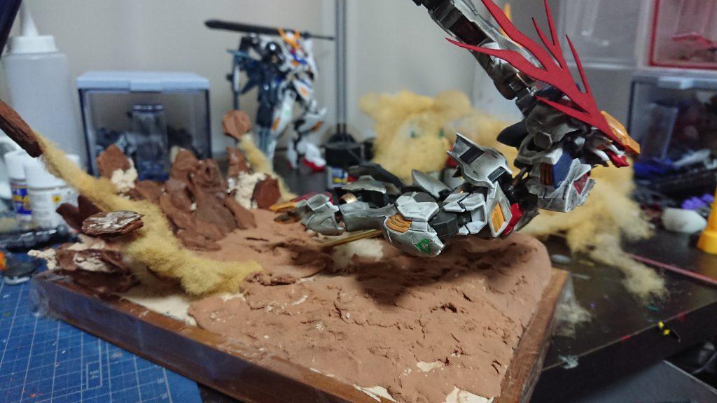 ヴィネット【Fighter】 制作工程6