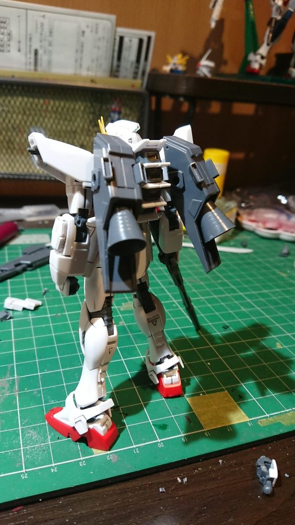 ガンダムF91 アピールショット2