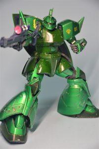 MG ヴィッシュ・ドナヒュー専用ゲルググ メタリック塗装