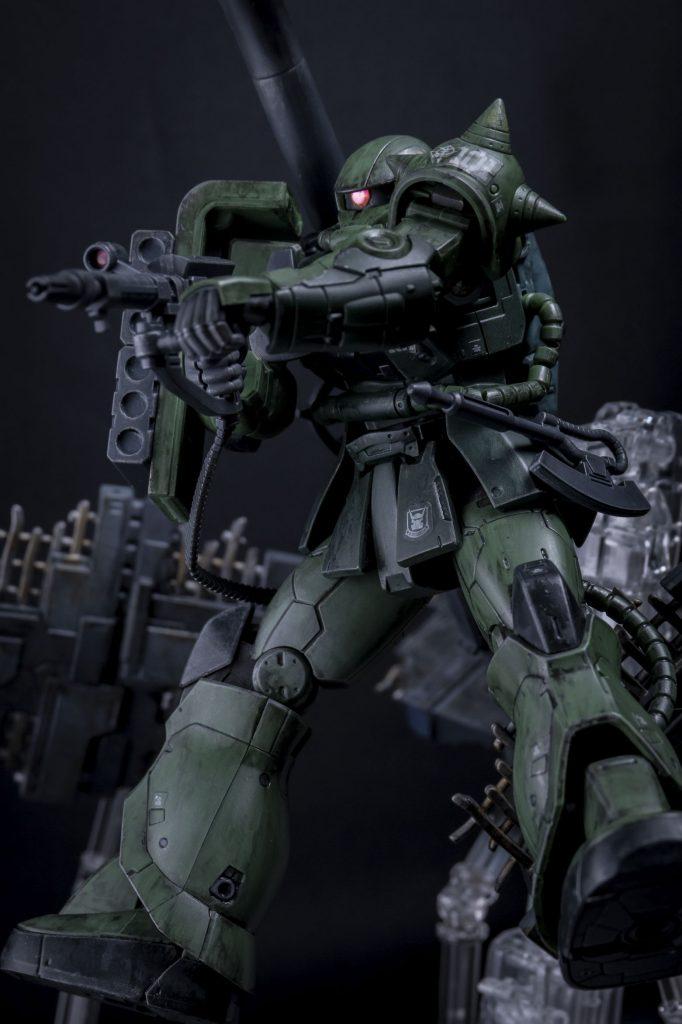 HG オリジン版 ザクⅡ アピールショット2