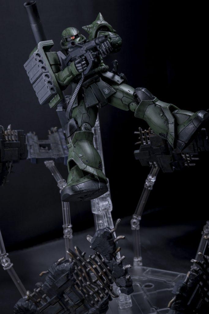 HG オリジン版 ザクⅡ アピールショット4