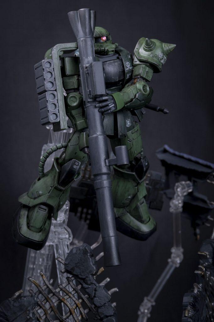 HG オリジン版 ザクⅡ アピールショット3