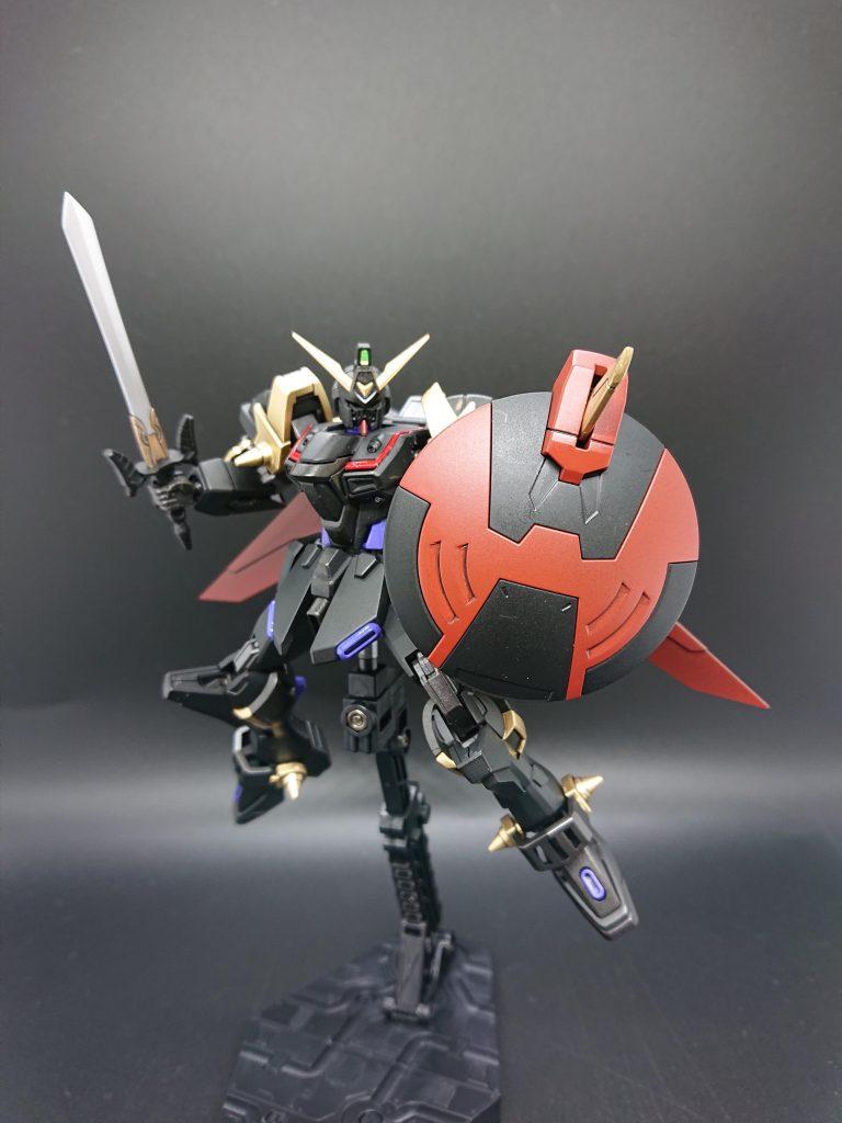 黒騎士ガンダム作ってみた アピールショット2