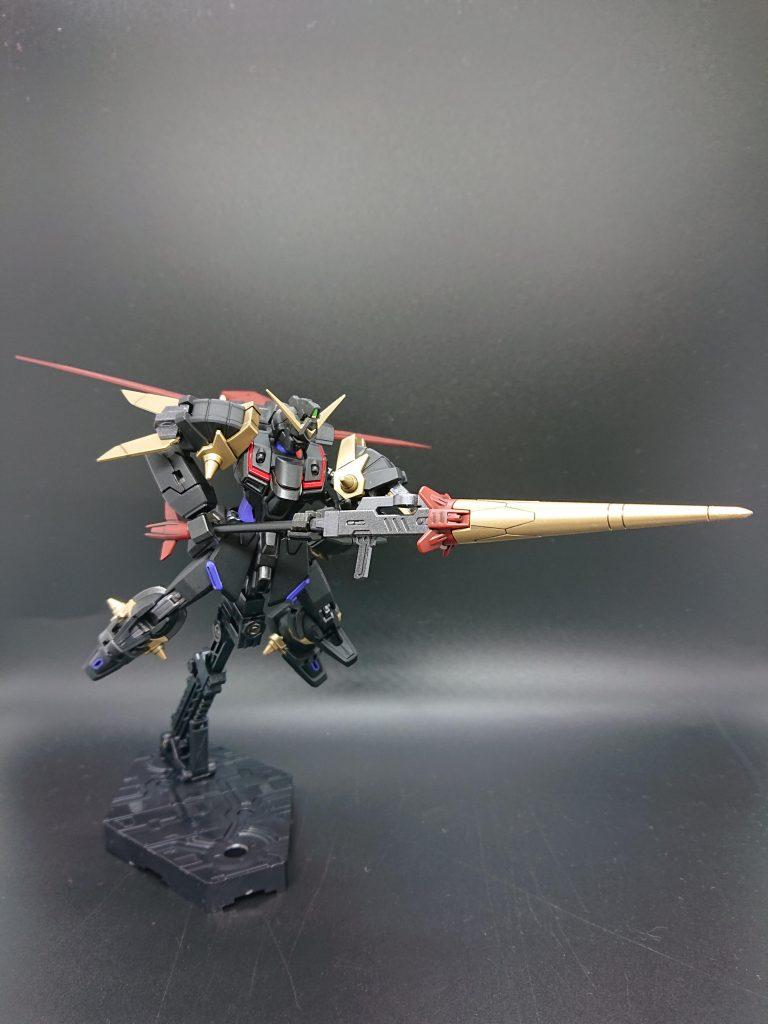 黒騎士ガンダム作ってみた アピールショット3