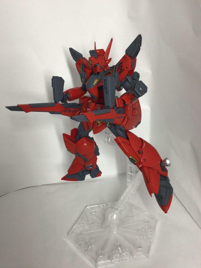 RE/100 ビギナ・ゼラ 〜炎の虎ver〜 アピールショット3