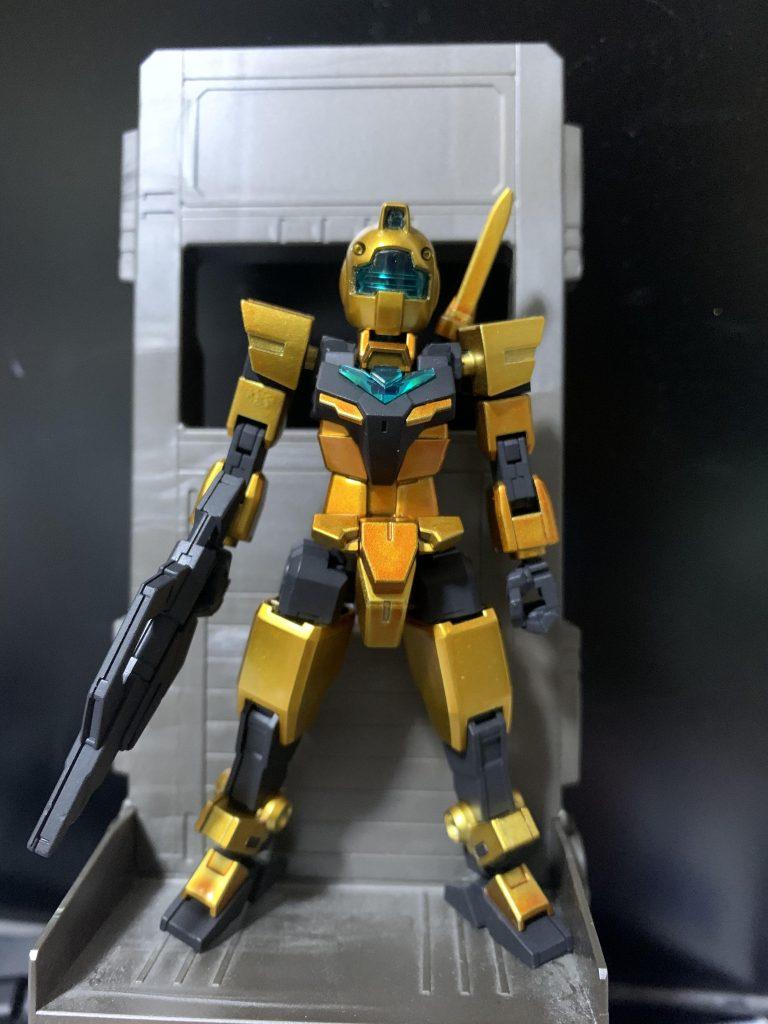 金色ガンダム 制作工程6