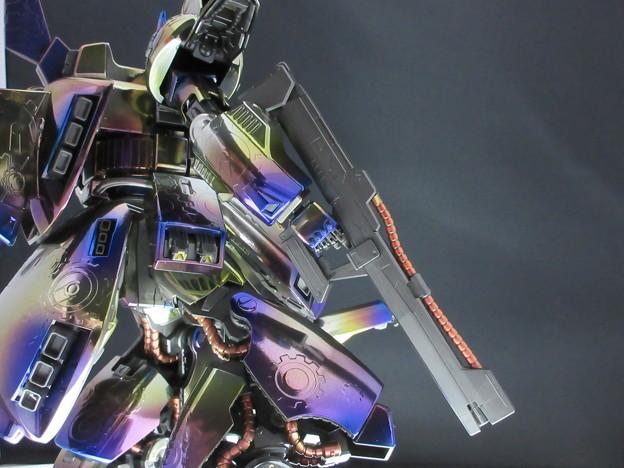 MG THE-O チタン風塗装(焼鉄色 アピールショット2