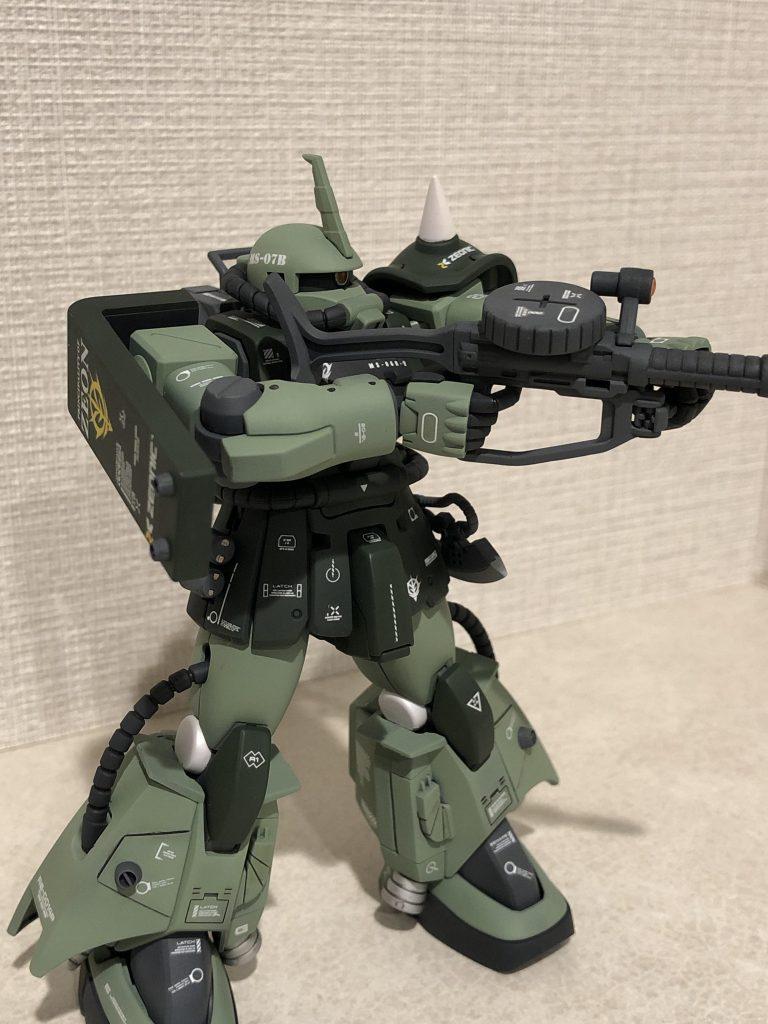 高機動型ザクII アピールショット4