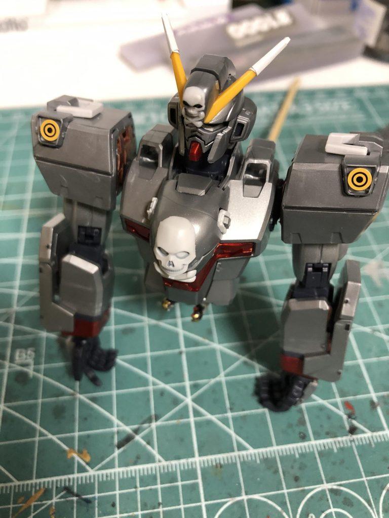 MG クロスボーンバンガードXO Ver.Ka 制作工程4