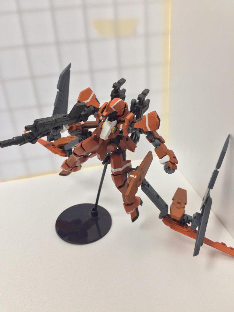 グレイズ(重力下訓練仕様機) アピールショット4