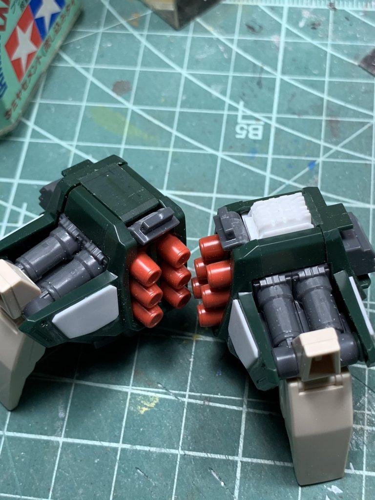 MG バスターガンダム 制作工程3