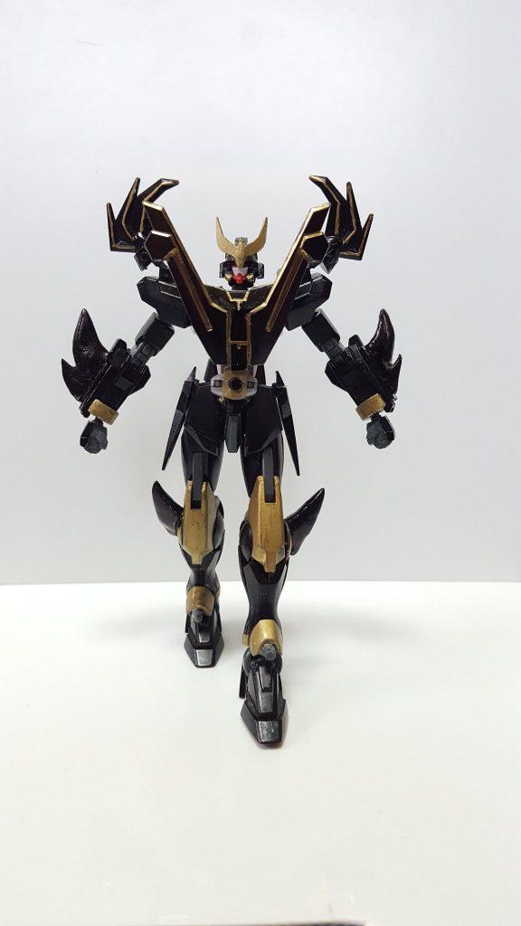 空牙ガンダム・ライジングフォーム集 制作工程1