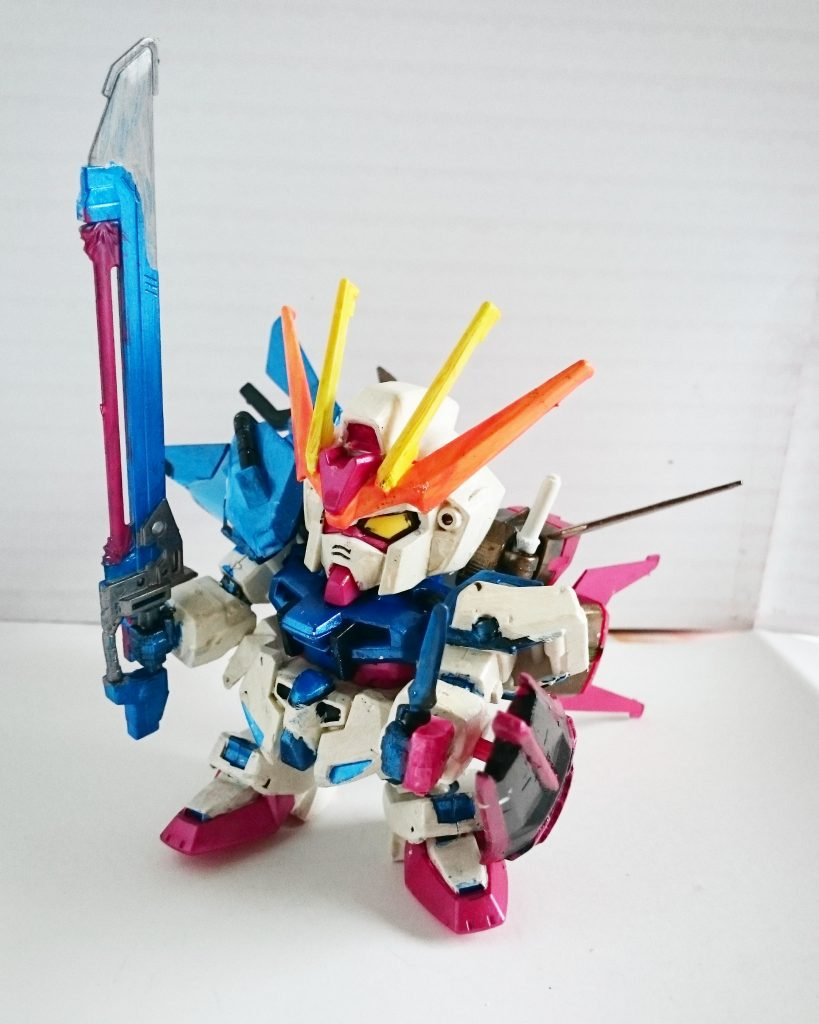 Strike Gundam Striker Weapon System アピールショット3