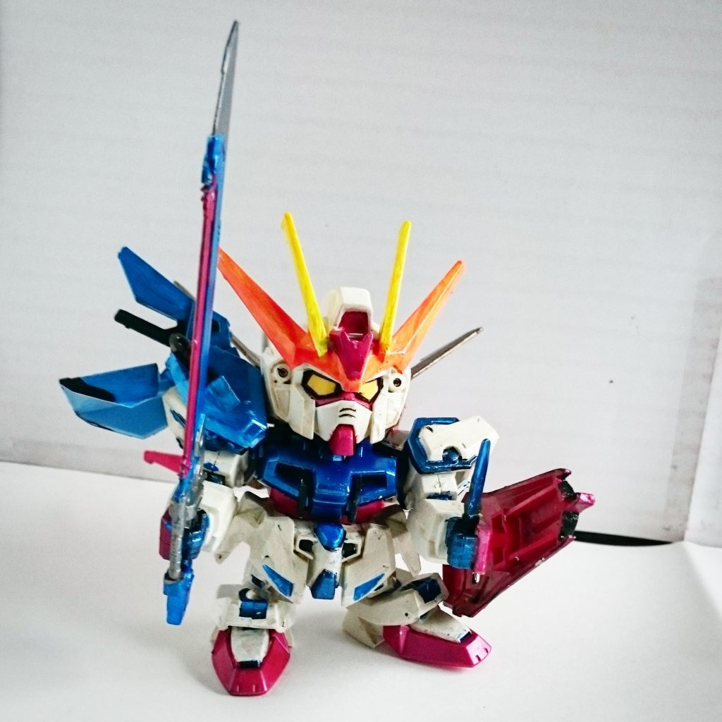 Strike Gundam Striker Weapon System アピールショット1