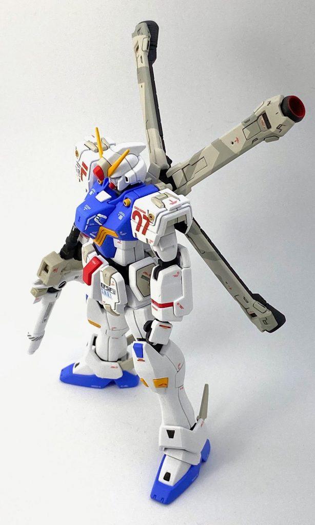 """ガンダムF97 """"クロスボーン"""" (HGUC改造) アピールショット4"""